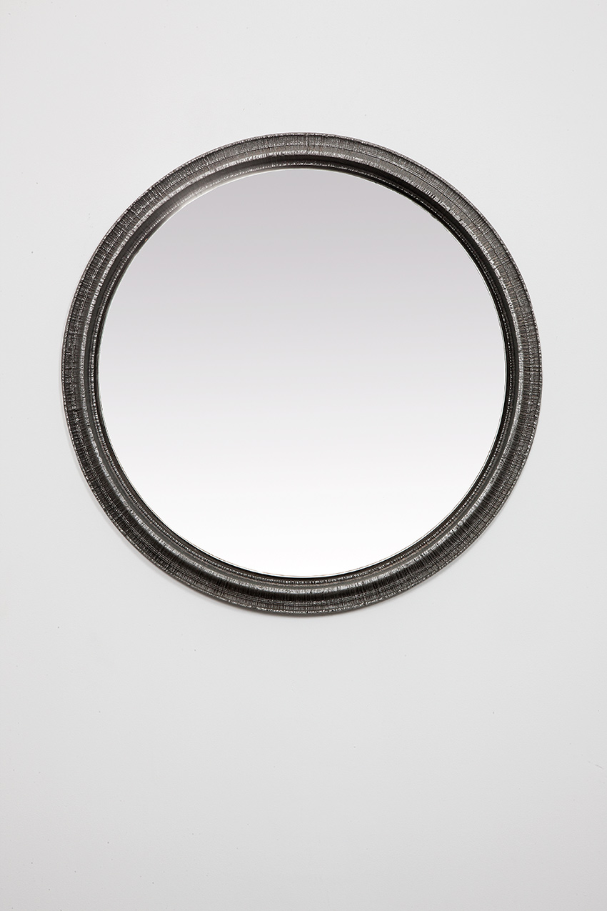 Lorenzo Burchiellaro cast iron mirror