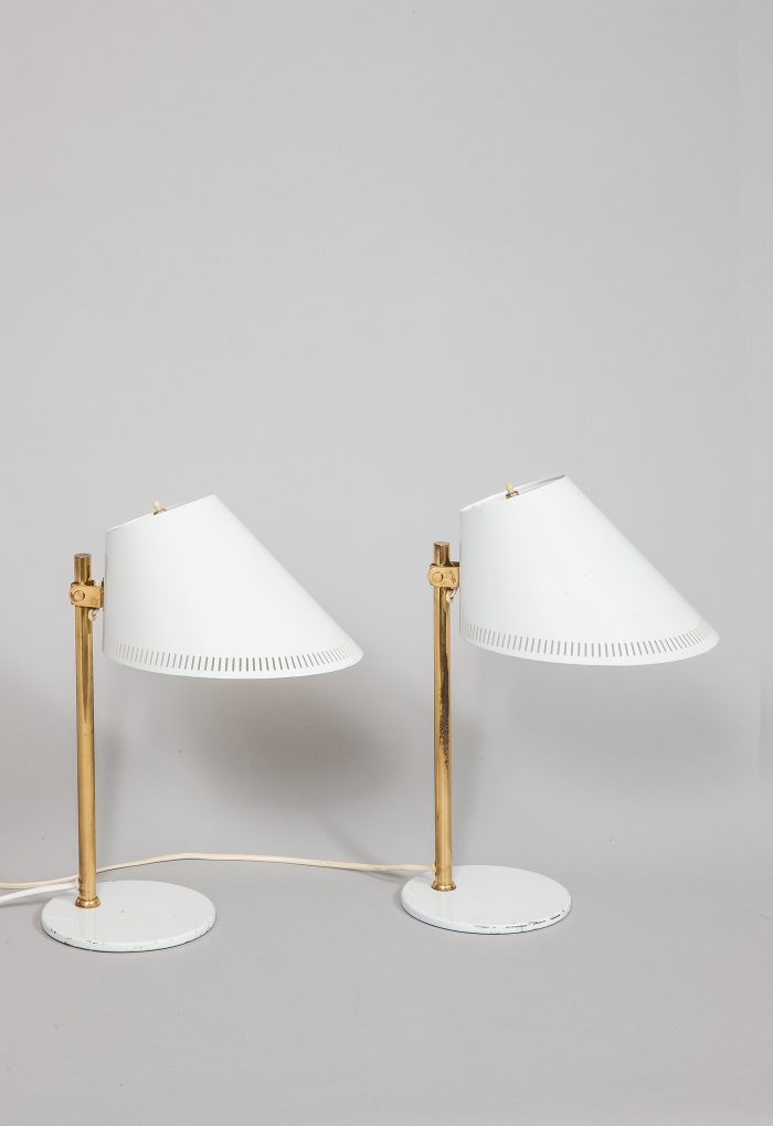 Paavo Tynell pair of table lamps