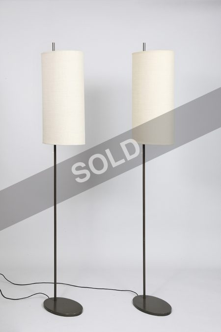 Arne Jacobsen floor lamps (sold)