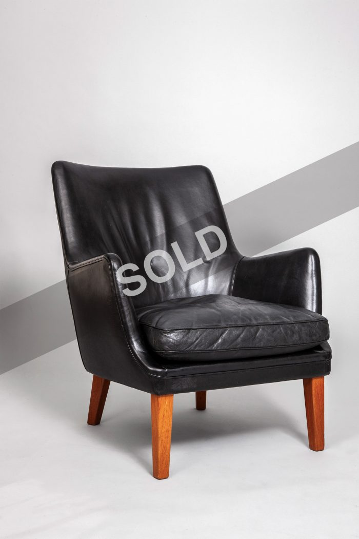 Arne Vodder teak armchair (sold)