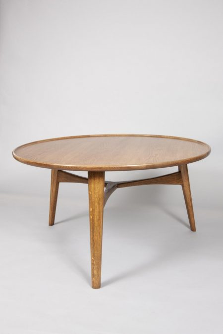 Ejner Larsen Aksel Bender Madsen smoked oak coffee table