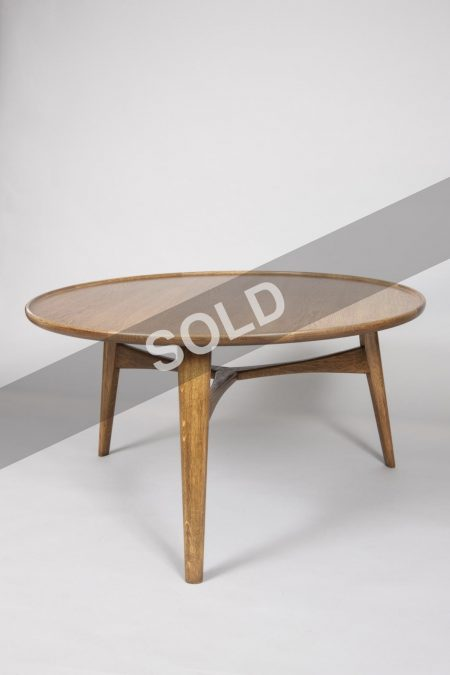 Ejner Larsen smoked oak coffee table