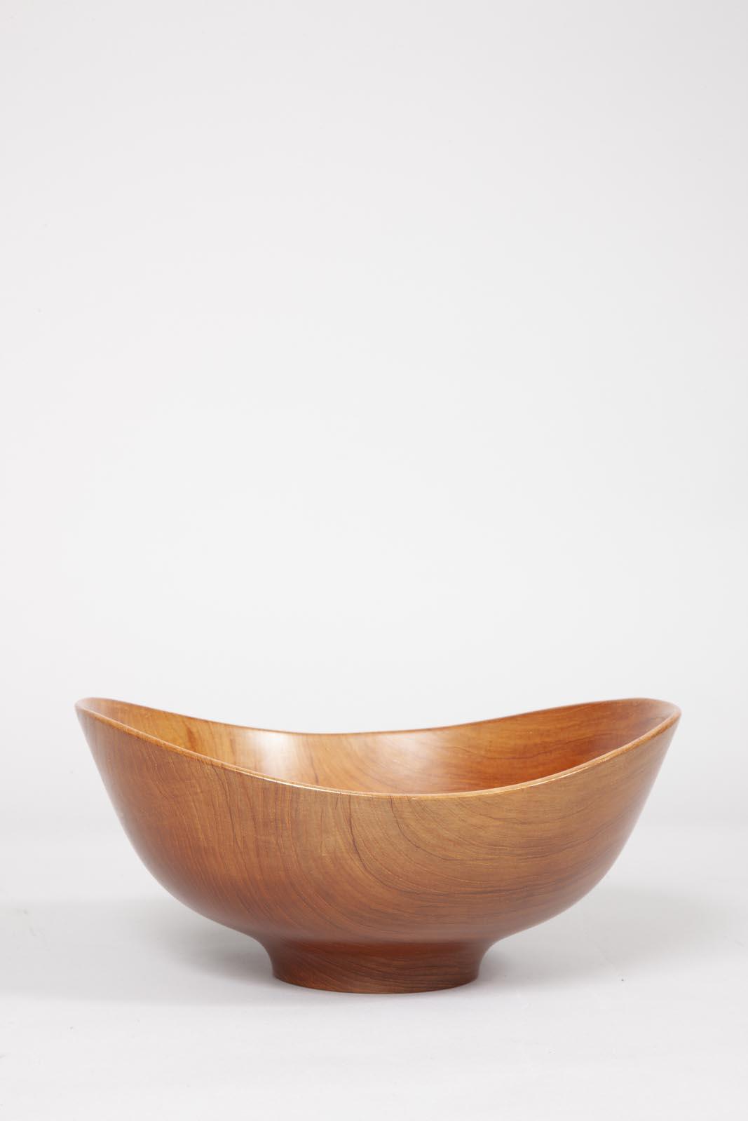Finn Juhl teak bowl