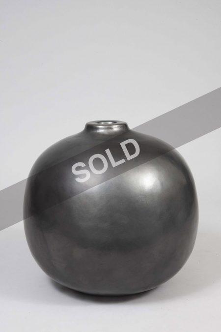 Andre Baud big grey vase