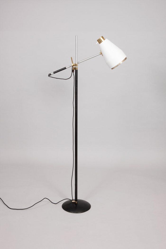 Viljo Hirvonen white lamp, FInland 1970