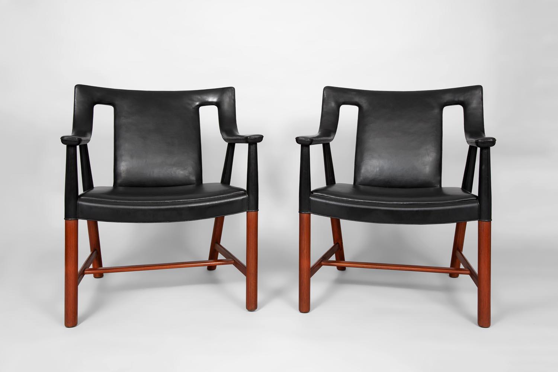Ejner Larsen Aksel Bender Madsen armchairs