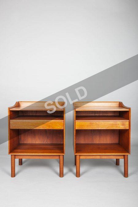 Peter Hvidt and Orla Molgaard Nielsen bedside tables